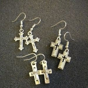 Cross Earring Bundle